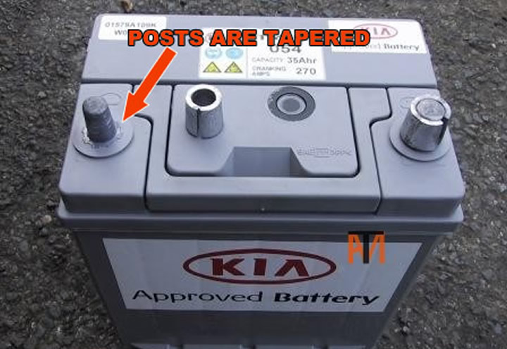 Car Battery Posts