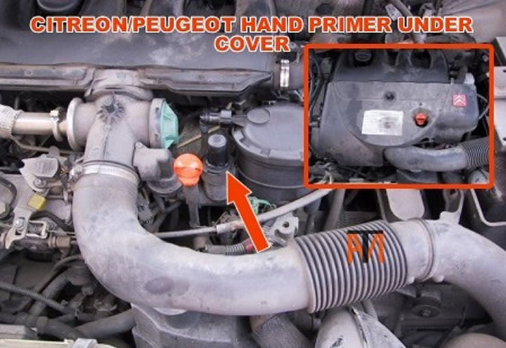 Citreon Diesel Hand Primer on 2004 Mazda 6 Common Problems