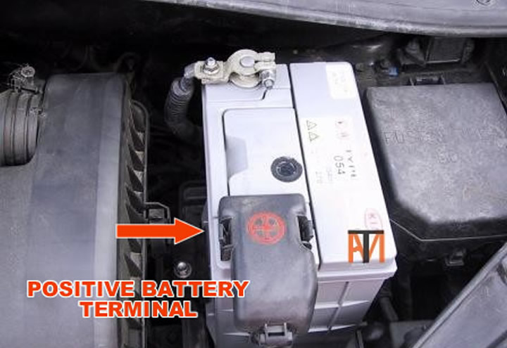 Positive Battery Terminal