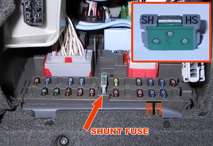 Shunt Fuse ask the mechanic peugeot 2007 fuse box at soozxer.org