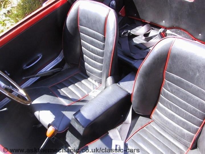 Sunbeam Alpine Rear Seat Belts