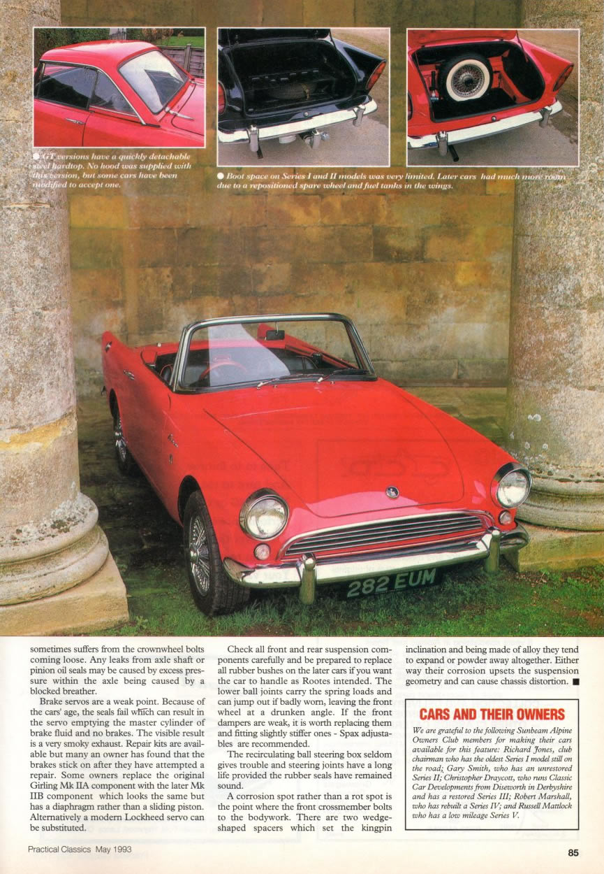 Sunbeam_Alpine_Guide