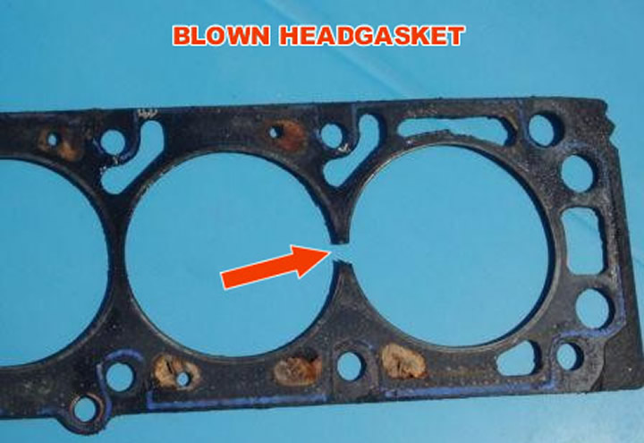 Blown Head Gasket © 2006 Lewes Collard