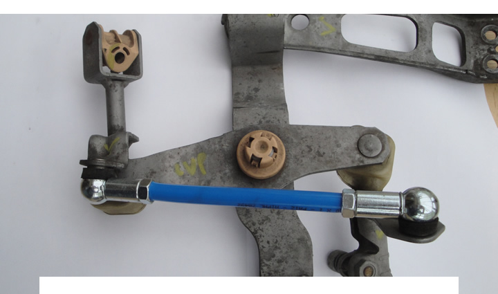 Worn Gear Linkage