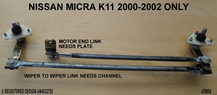 micra-k11-wiper-linkage-repair