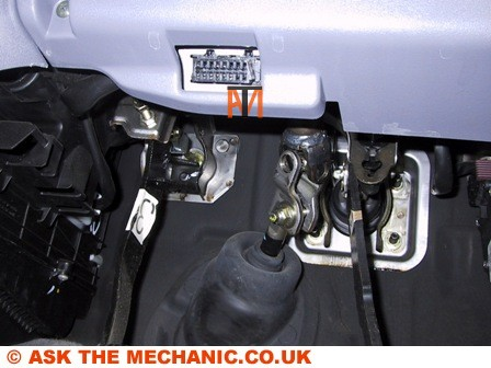 Ask The Mechanic Nissan Diagnostic Socket Location