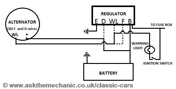 wiring diagram for alternator conversion – readingrat,