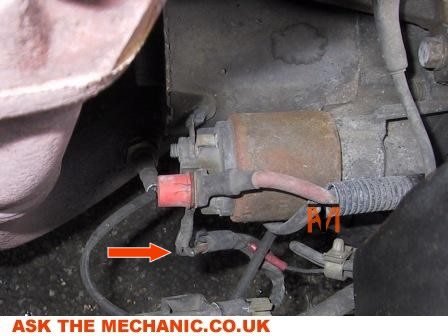 How To Change Starter Motor On Ford Transit