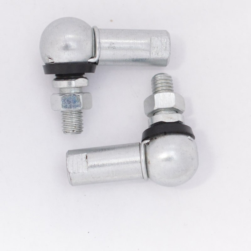 Pair of 10mm ball & socket joint M6 Right Hand Thread H