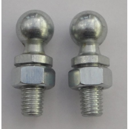 13mm Male Ball Joint Studs M8 R/H Thread x 2