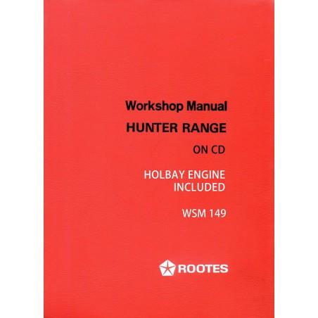 Hillman Hunter Workshop Manual WSM149 Sunbeam Rapier Fastback Coupe