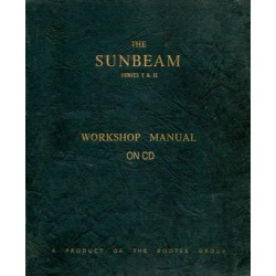 Sunbeam Rapier I-II Workshop Manual WSM 128 66007/7