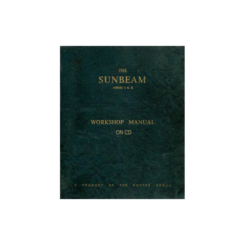 Sunbeam Rapier I-II Workshop Manual WSM 128 66007/7