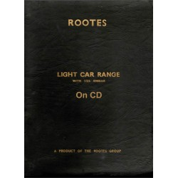 Rootes Light Car Range (all models with 1725 engine)