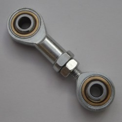 M6 Rod Ends LH Thread Male & Female Rose Joint Tie Track Rod