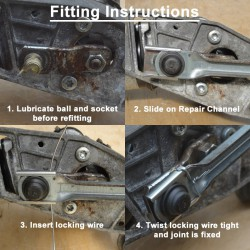 Nissan Qashqai 2007–2013 Wiper Repair Channel