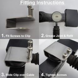 Vauxhall Vivaro cable repair clip