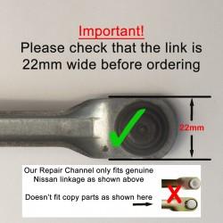 Nissan Qashqai 2007–2013 Wiper Repair Channel
