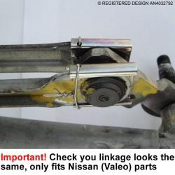 Nissan Qashqai Wiper Repair Channel NQ