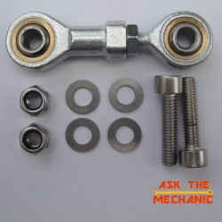 Honda MSX125 Grom Rose Joint Kit Improved Adjustable Gear Linkage