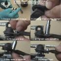 Windscreen Wiper Motor Repair Plate Instructions